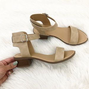 Shoes - Taupe Sas Heels
